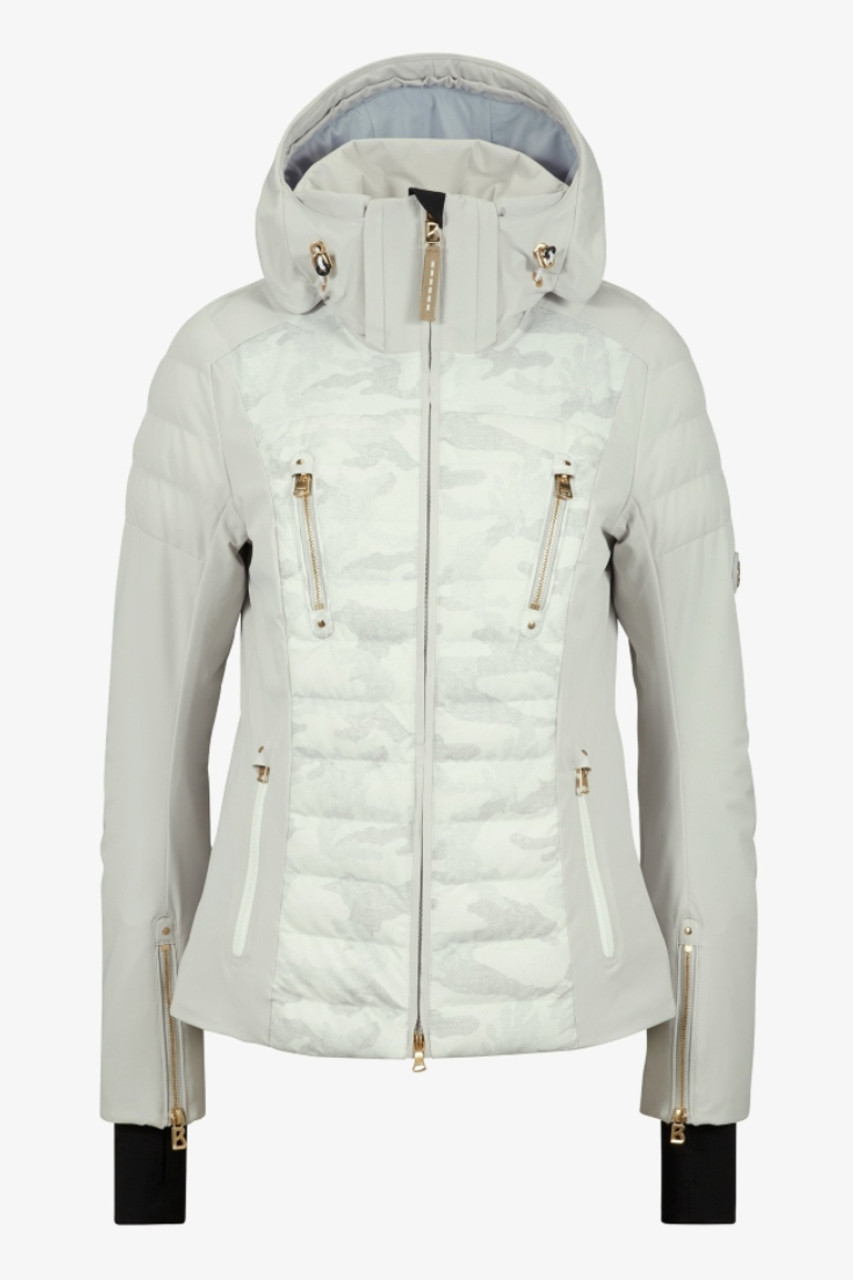 Bogner Suzie-T Camo  Ski Jacket | Women's | 3152194917 | Off White Camo | Front