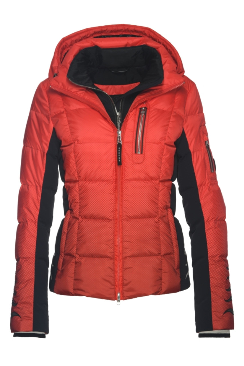 Bogner Wendy-D  Ski Jacket | Women's | 3159194936 | Lava Red | Front