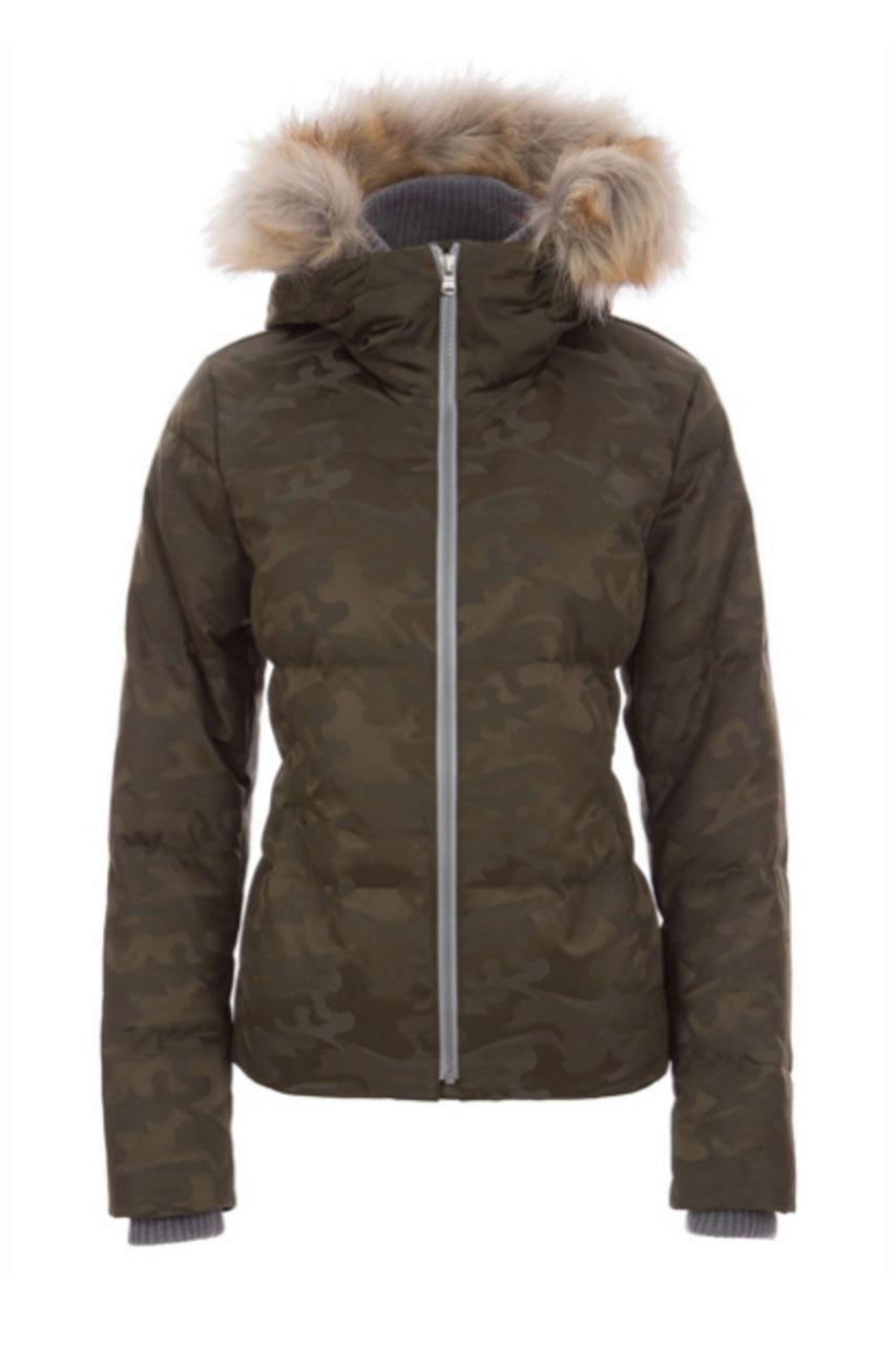 Fera Chloe Special Faux Fur Parka | Womens | 81112SB19 | Olive Camo