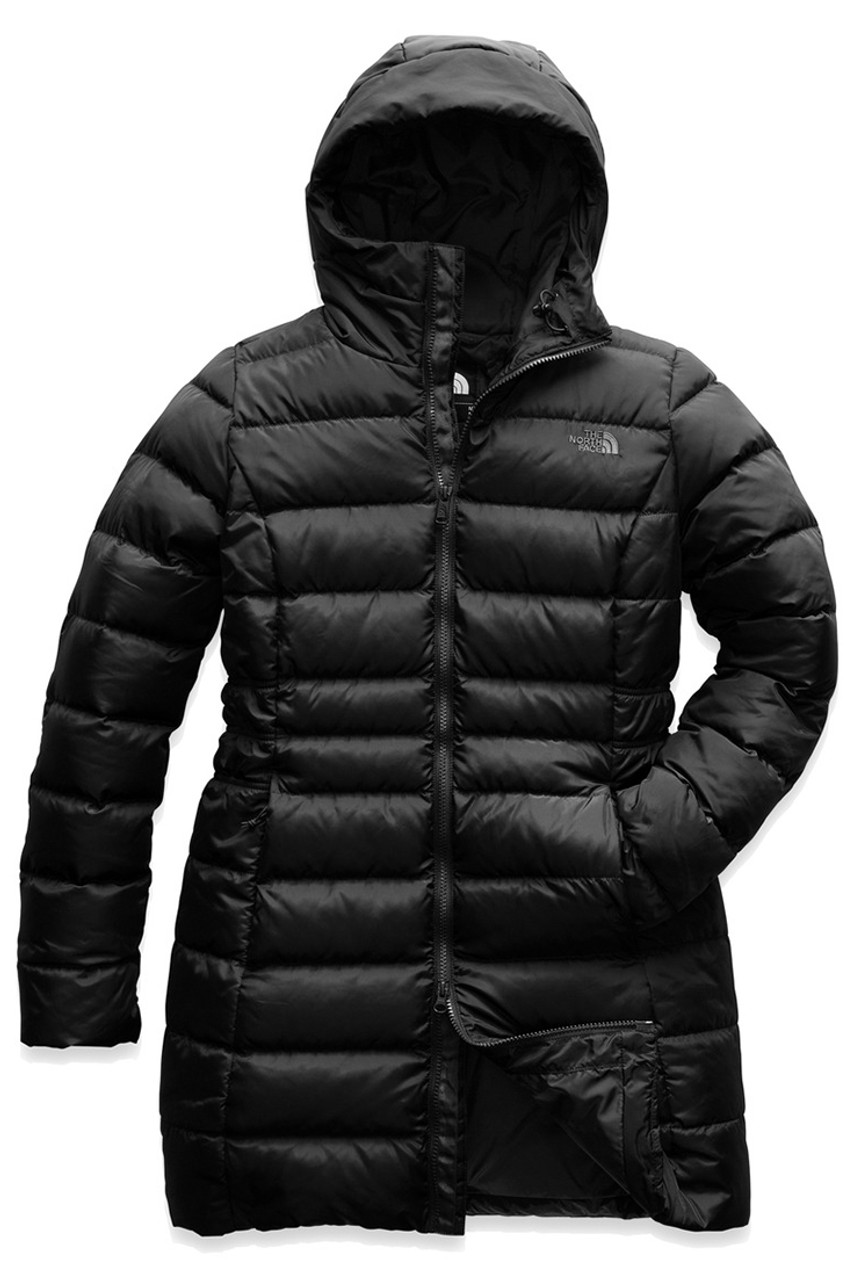 The North Face Gotham Parka II   Women's   Black   Front