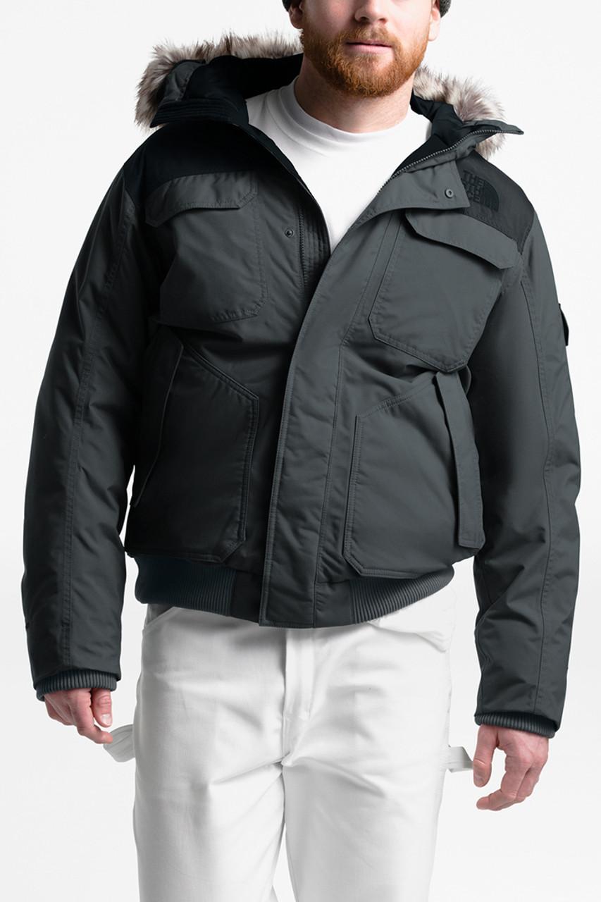The North Face Gotham Jacket III   Men's   Asphalt Grey/TNF Black   Front