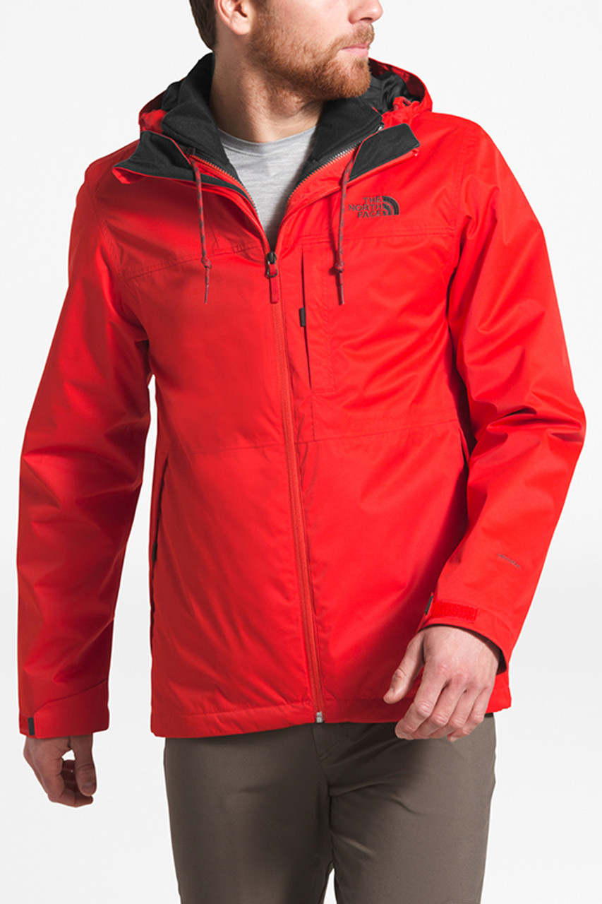 The North Face Arrowood Triclimate Jacket | Men's | Fiery Red | Front