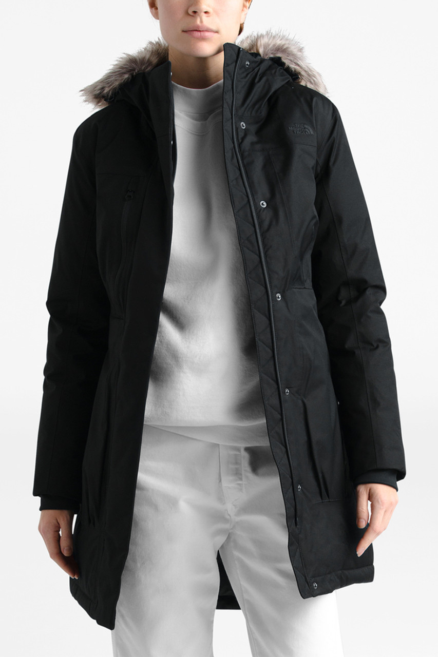 The North Face Downtown Parka | Women's | Black | Front
