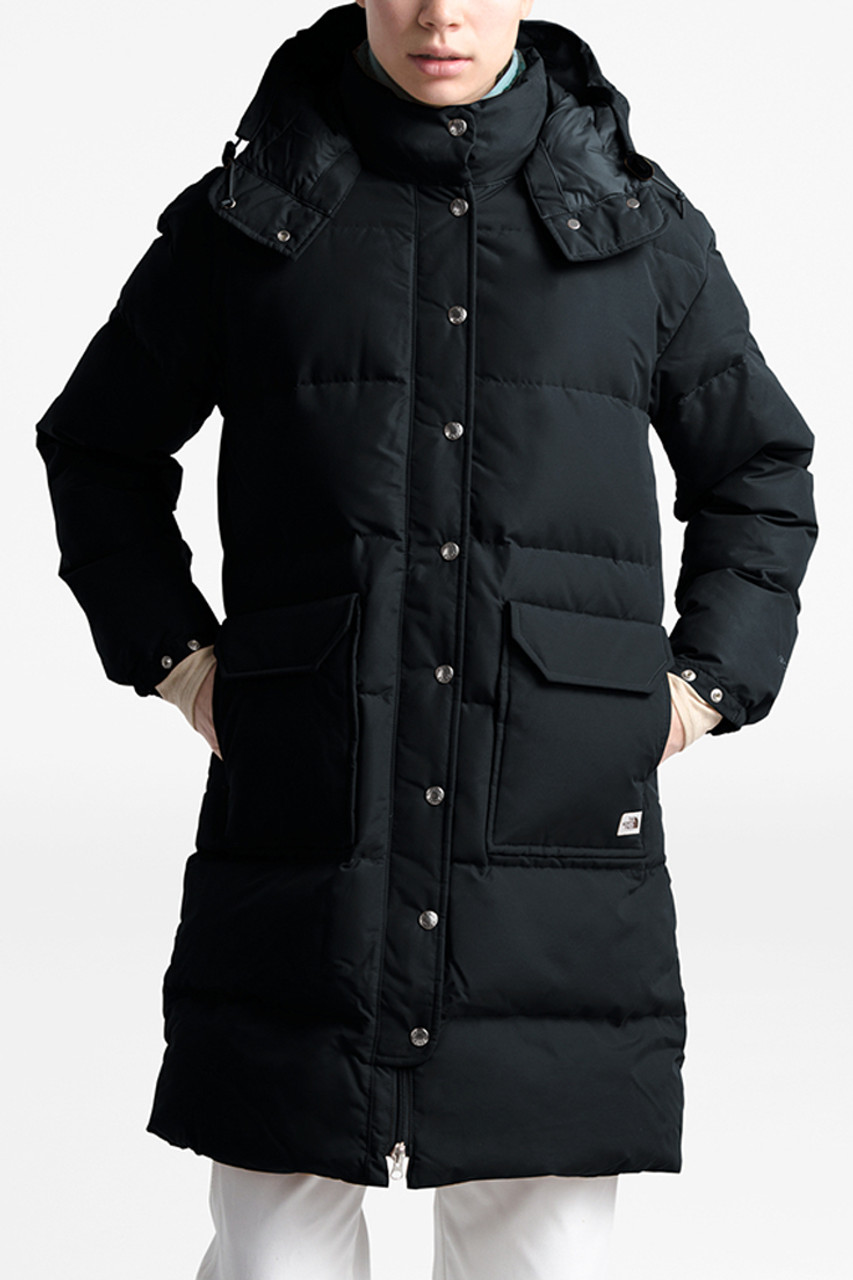 The North Face Down Sierra Parka | Women's | Black | Front