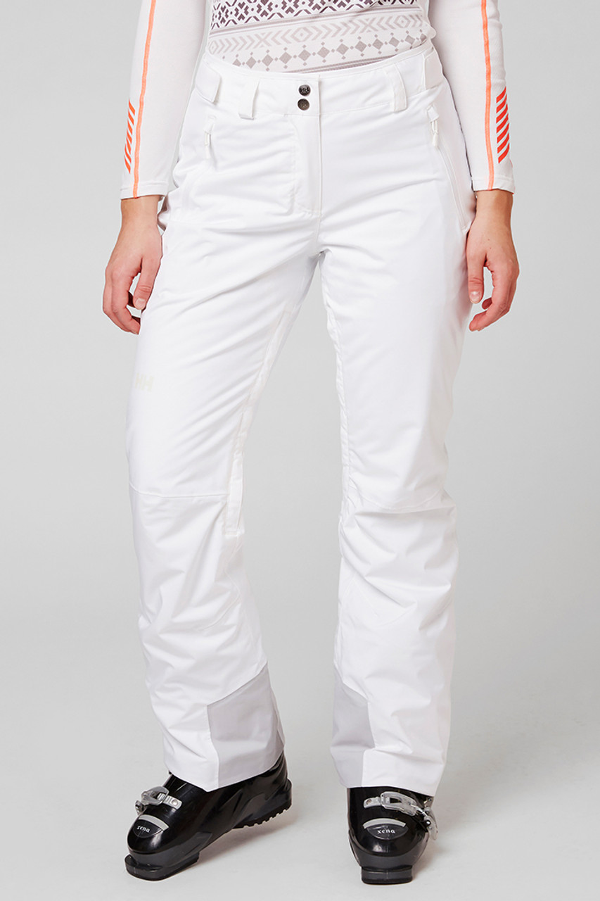 Helly Hansen Legendary Insulated Pant | Women's | White | Front