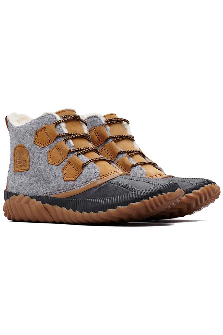 Sorel Out N' About Plus Felt Boot | Women's | Quarry/Elk | Pair