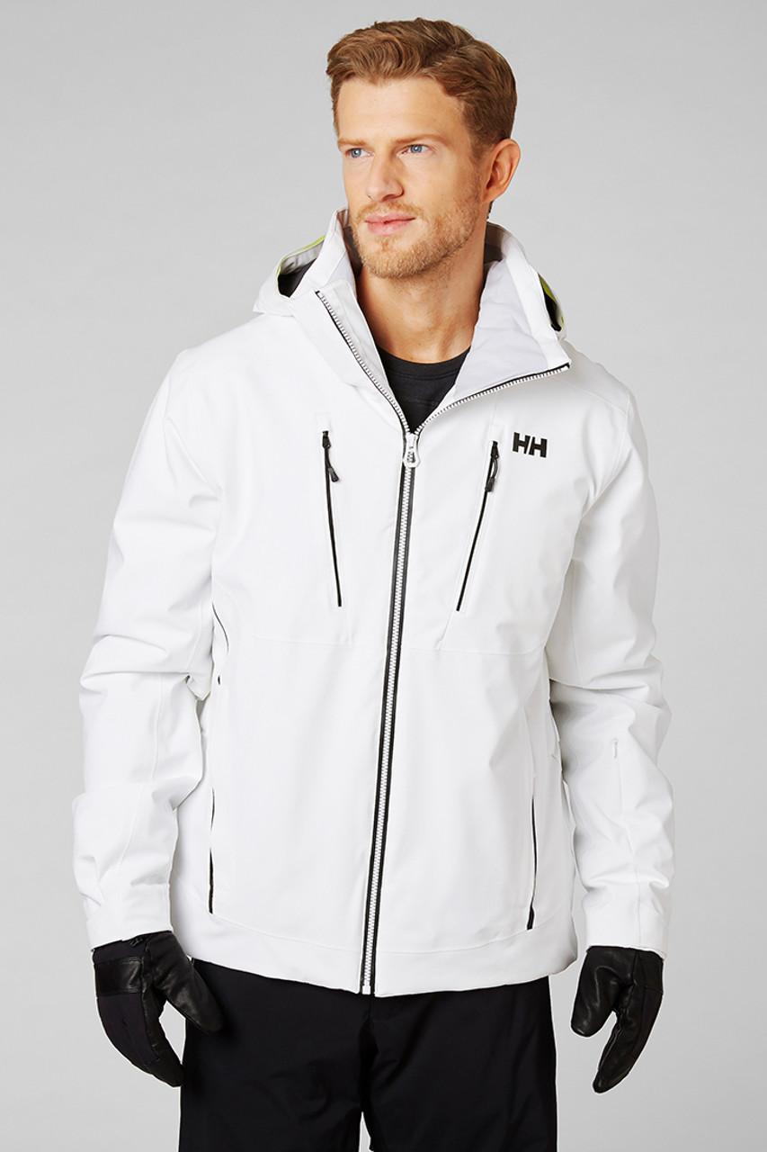 Helly Hansen Alpha 3.0 Jacket | Men's | White | Front