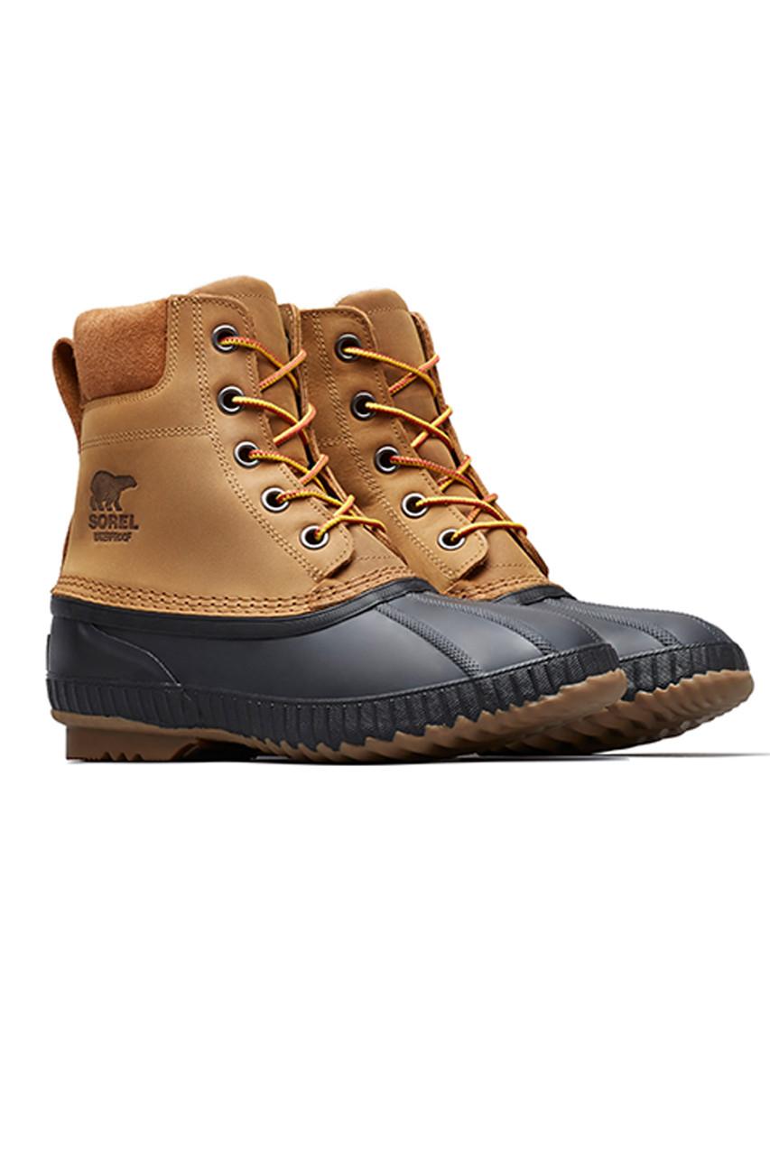 Sorel Cheyanne II Boot | Men's | Chipmunk-Black | Pair