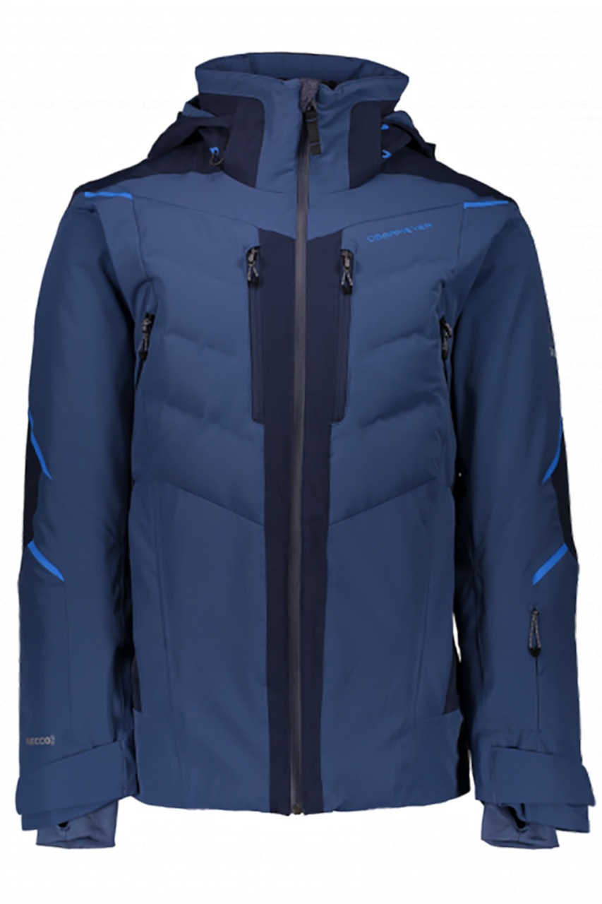 Obermeyer Ultimate Down Ski Jacket | Trident Blue