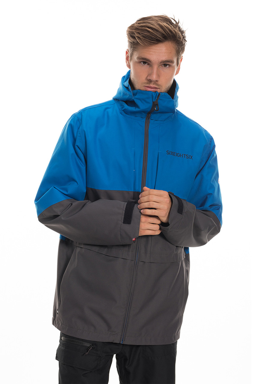 686 3-in-1 Form Jacket | Men's | Strata Blue | Front