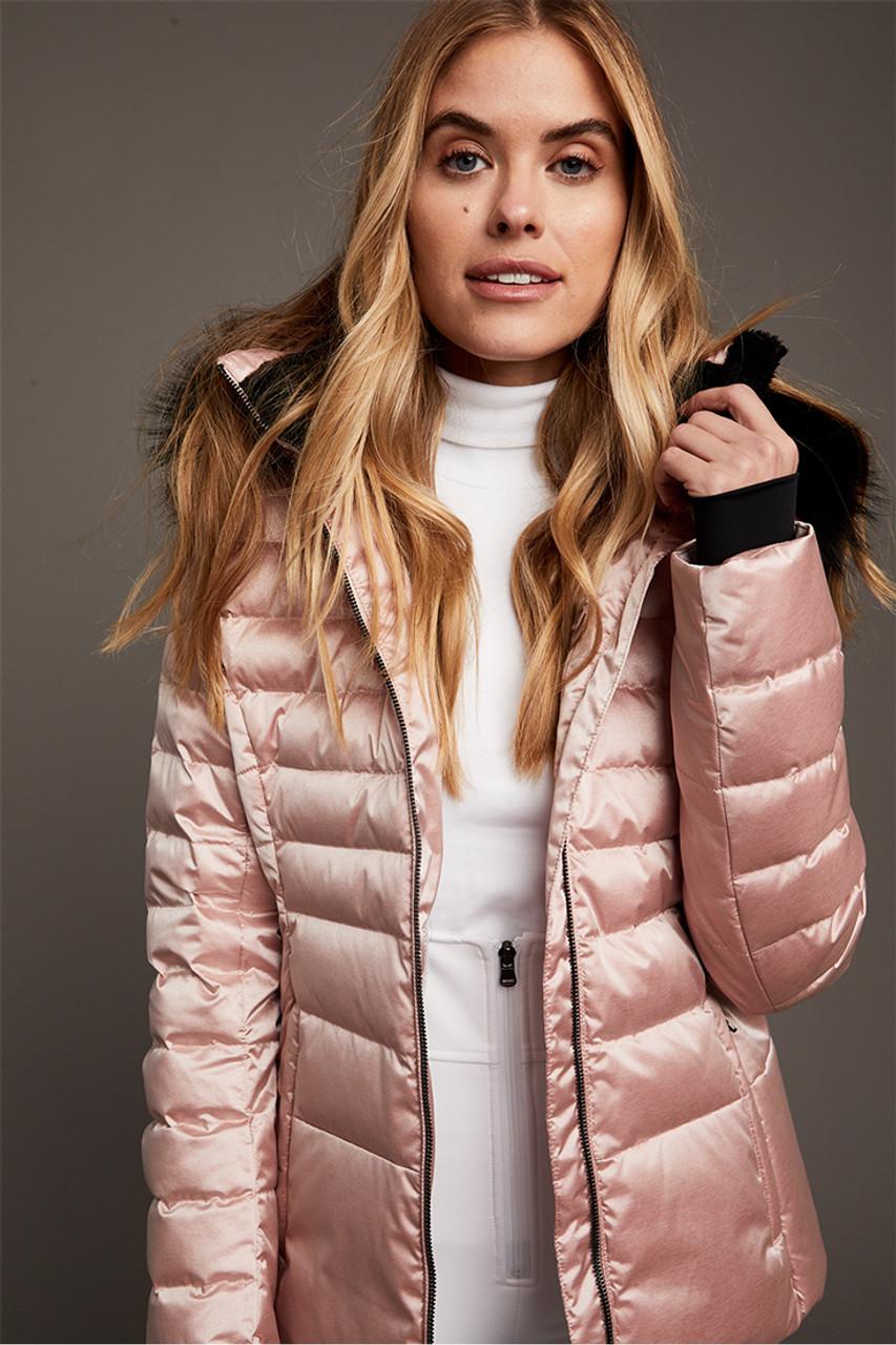 Fera Julia Special Faux Fur Jacket | Women's | Rose Quartz