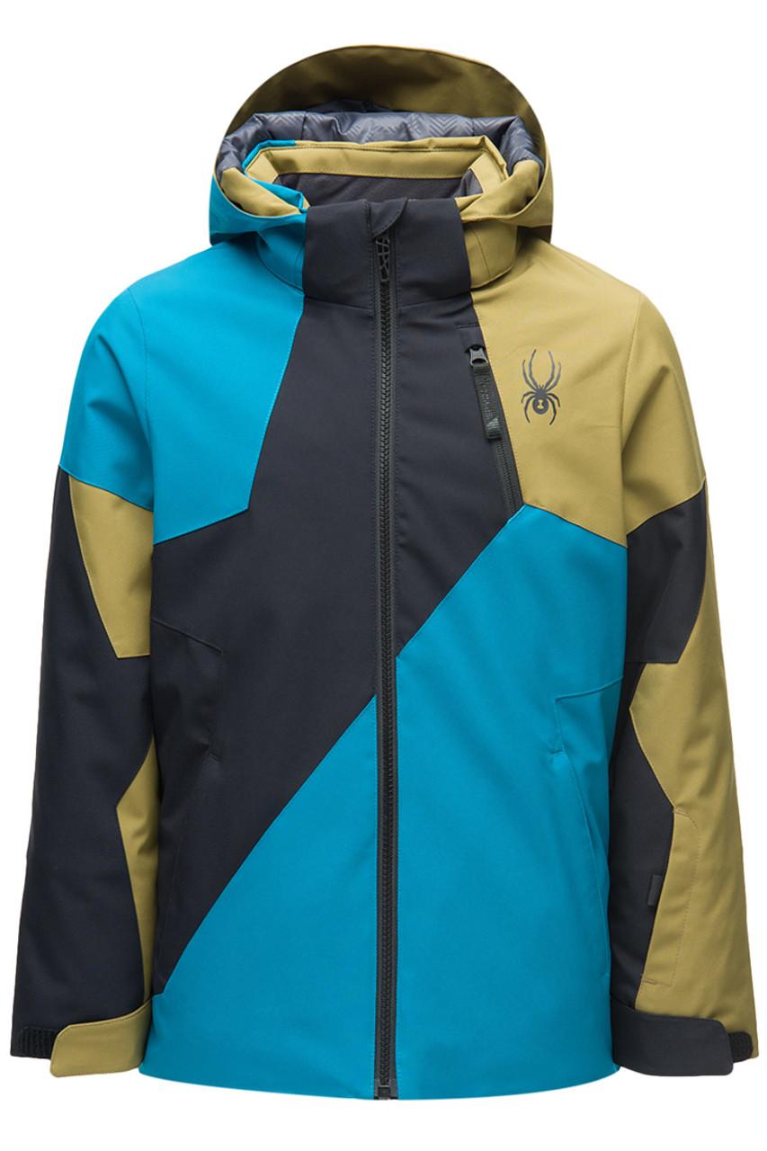 Spyder Ambush Jacket | Boy's | Swell Front