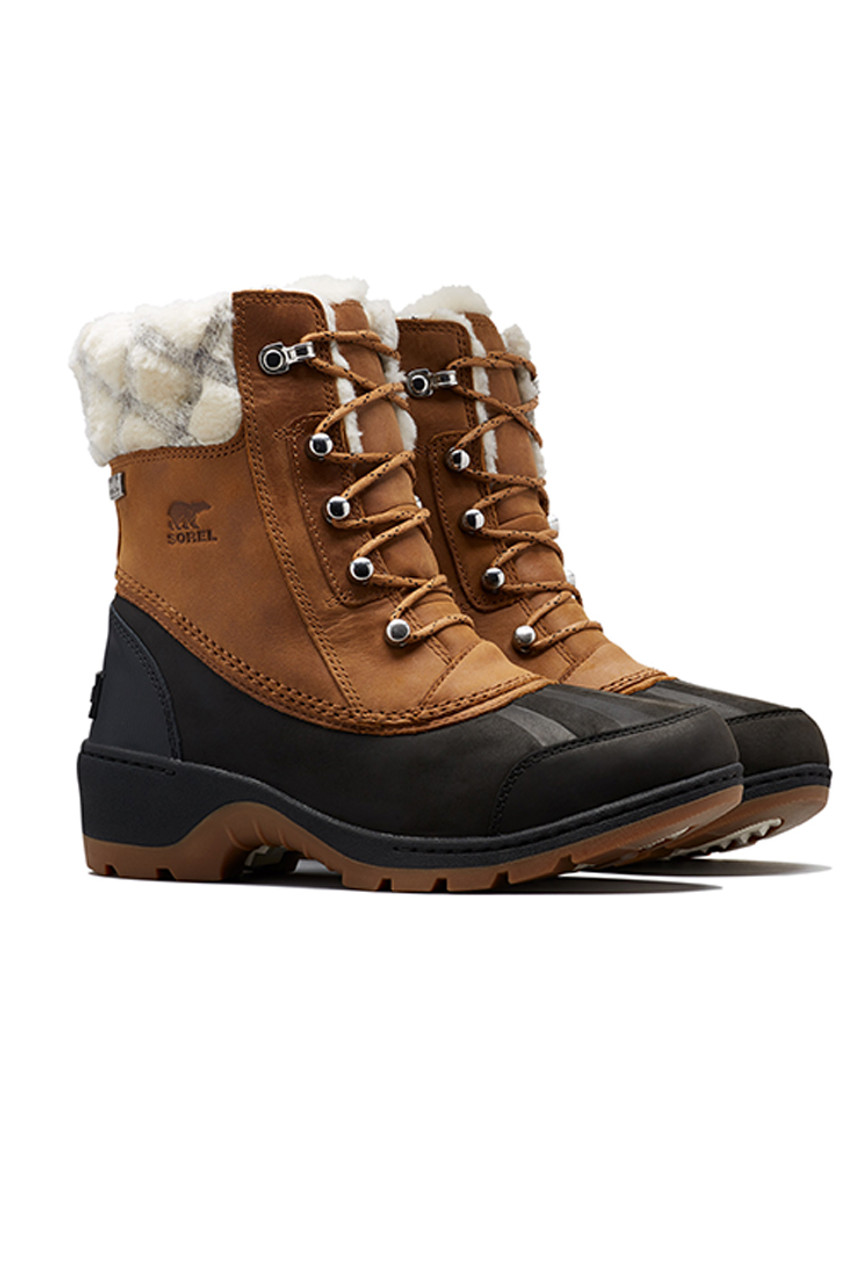 Sorel Whistler Mid II Boot | Women's | Camel Brown | Pair
