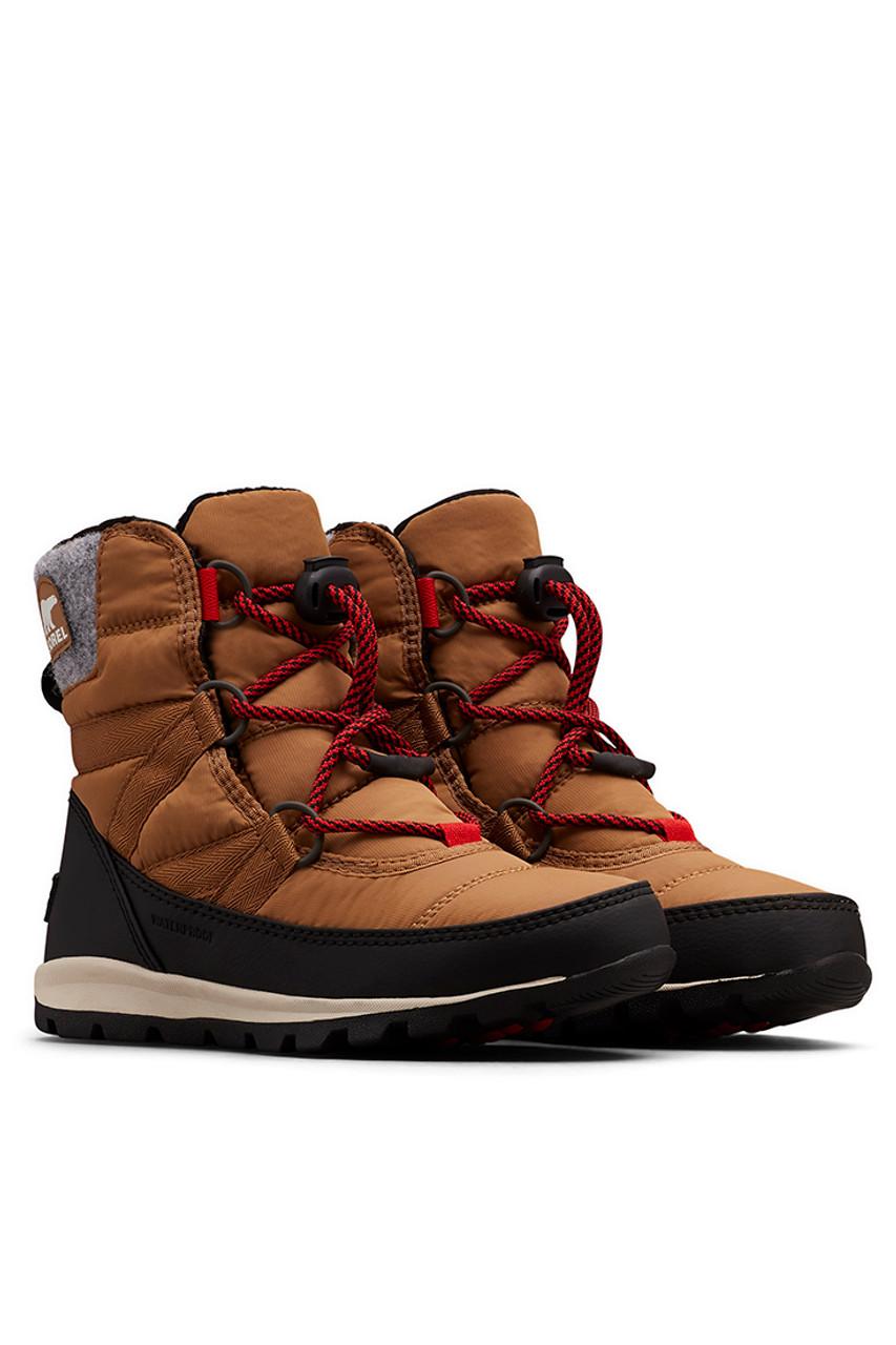 Sorel Whitney Short Lace Boot   Girl's   Elk Front