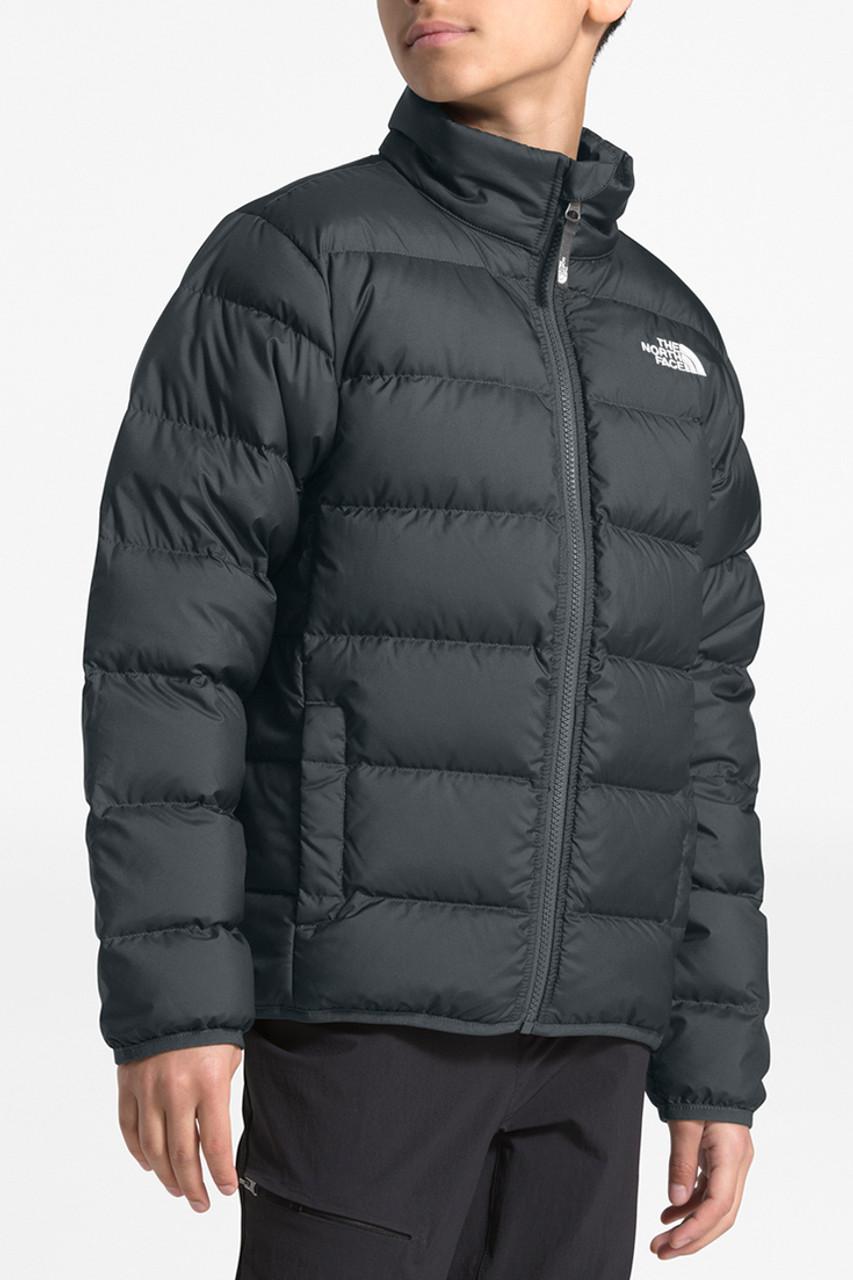 The North Face Andes Jacket | Boy's | Asphalt Grey | Front