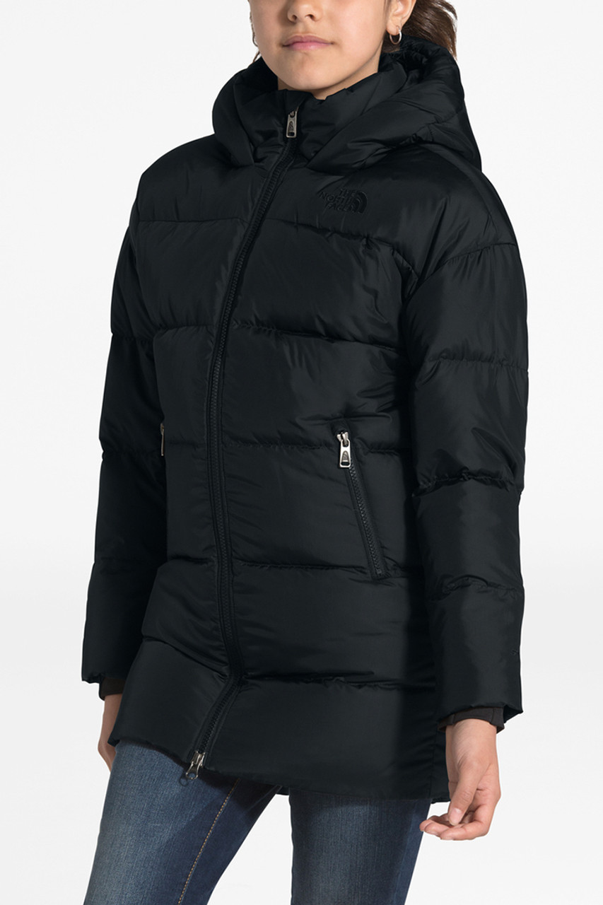 The North Face Gotham Down Parka   Girl's   TNF Black   Front