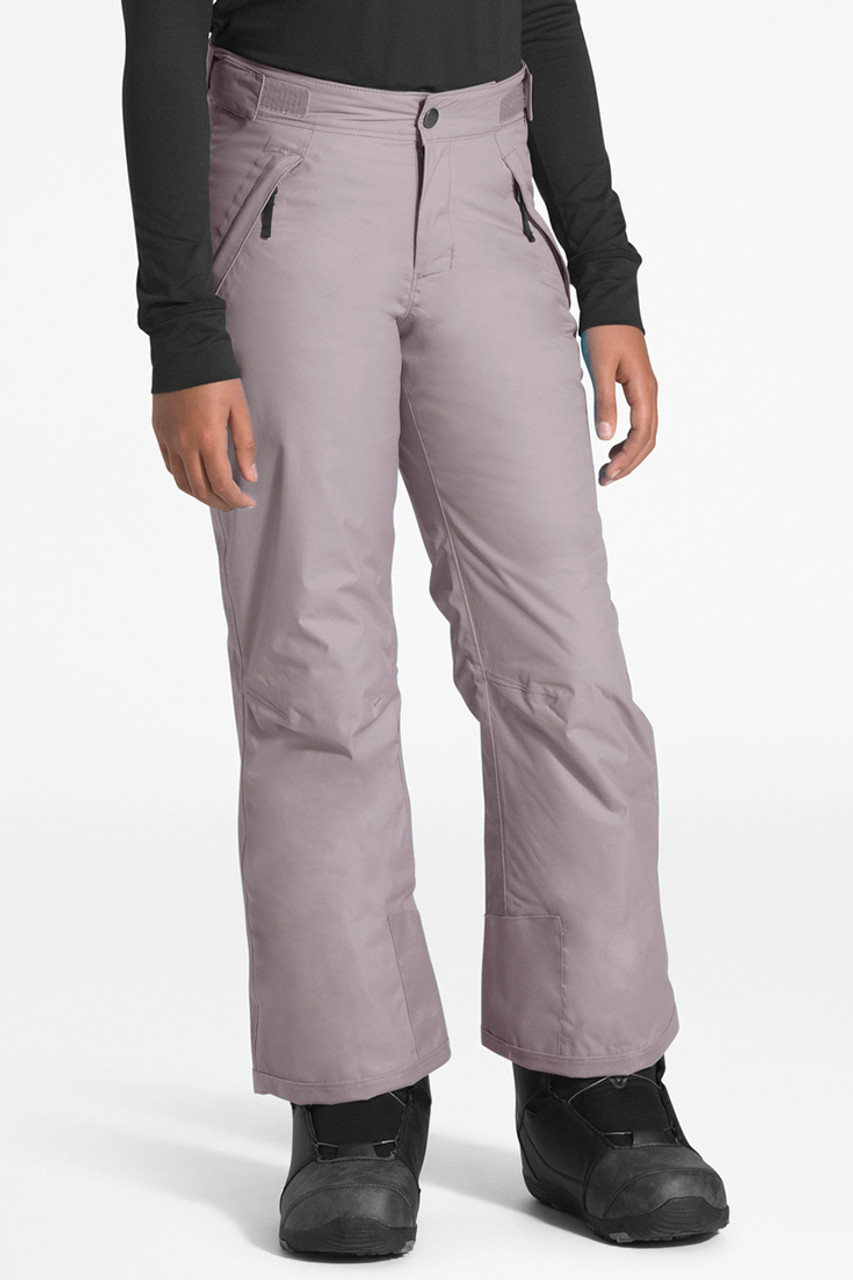 The North Face Freedom Insulated Pant | Girl's | Ashen Purple | Front