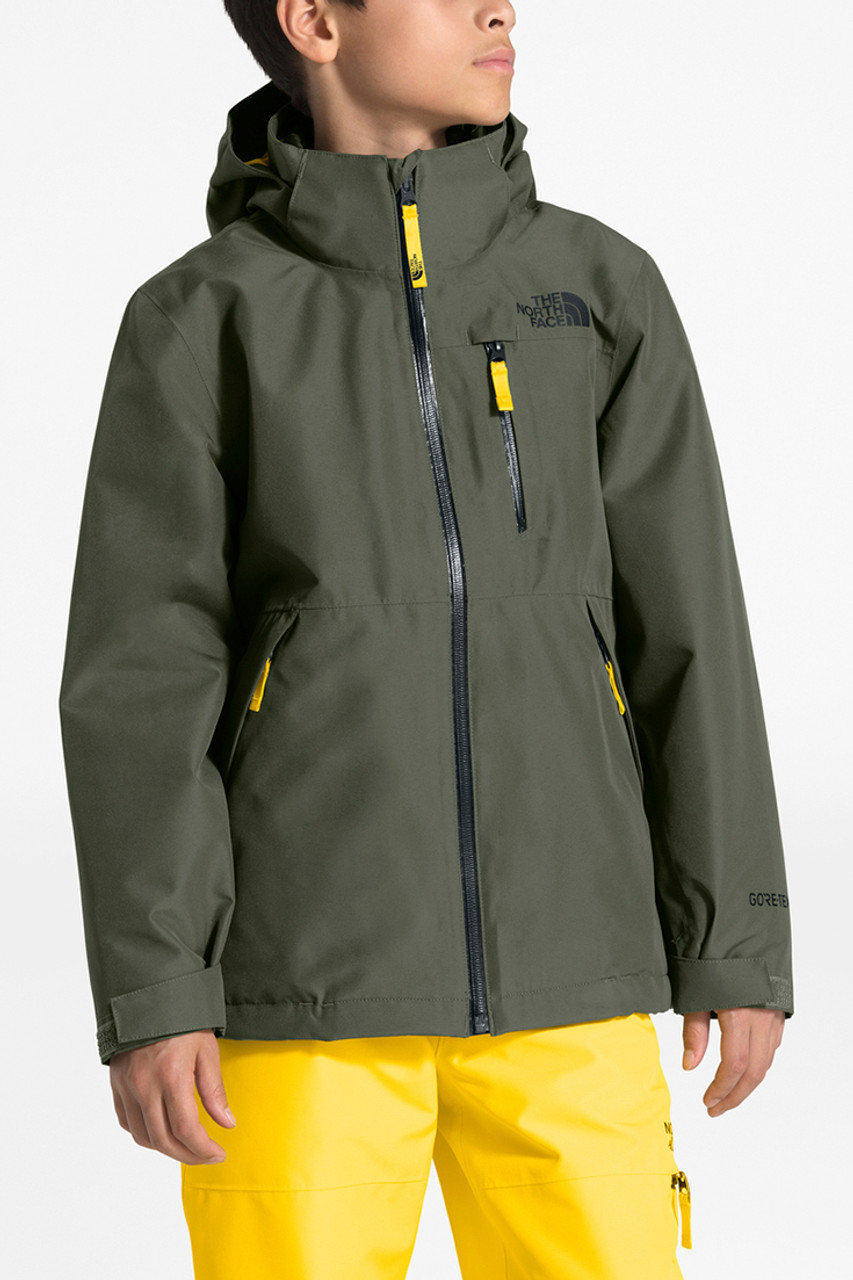 The North Face Fresh Tracks Triclimate | Boy's | New Taupe Green | Front