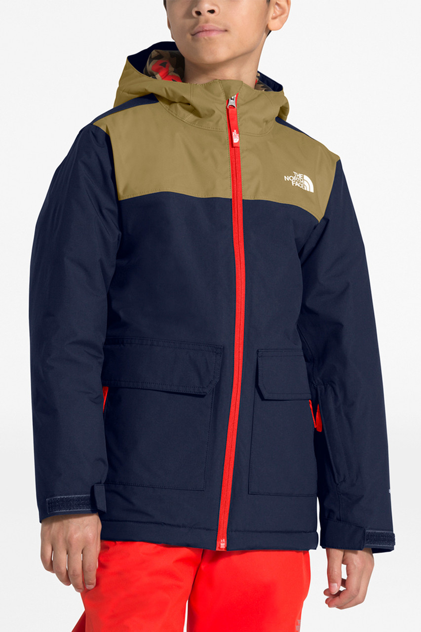 The North Face Freedom Insulated Jacket | Boy's | Montague Blue | Front