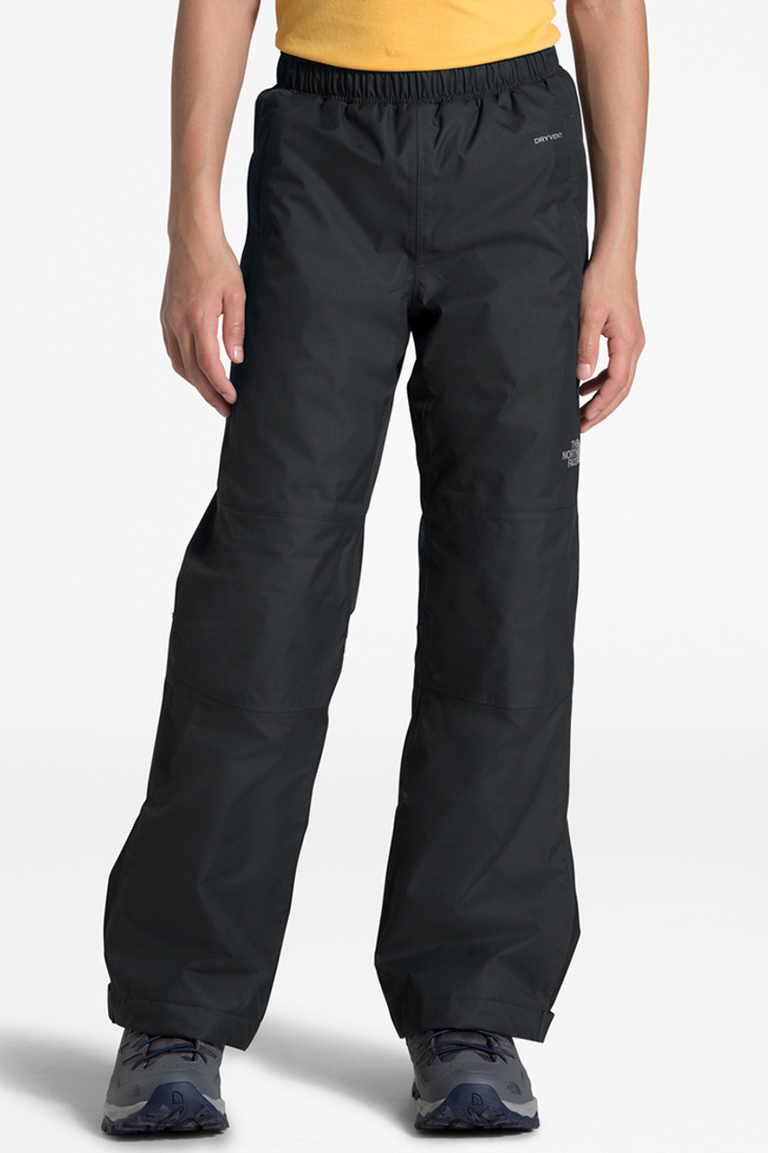 The North Face Unisex Resolve Insulated Pant | Youth | TNF Black | Front
