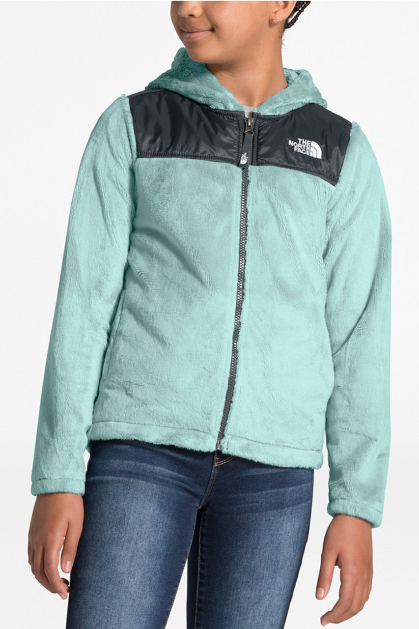 The North Face Oso Hoodie | Girl's | Windmill Blue | Front