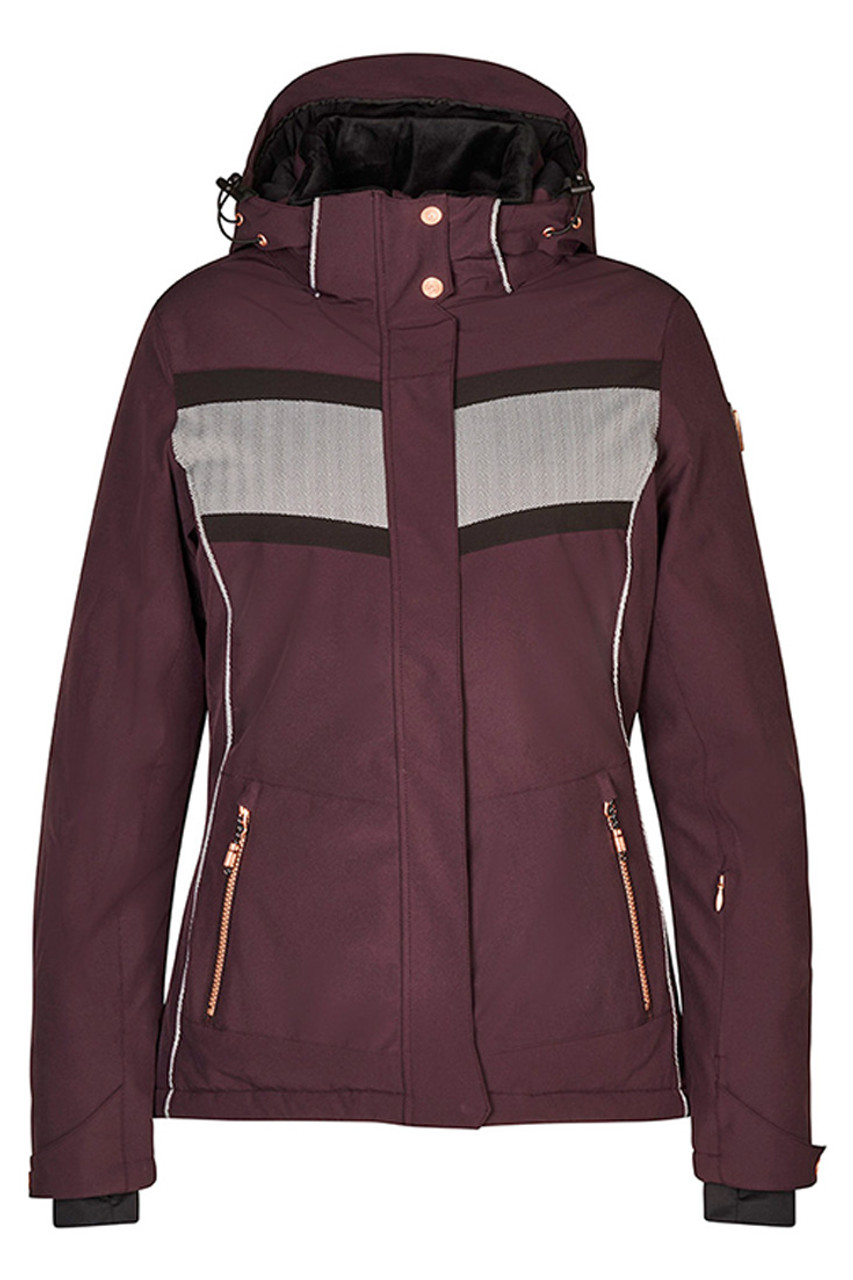 Killtec Rista Jacket   Women's   Aubergine   Front