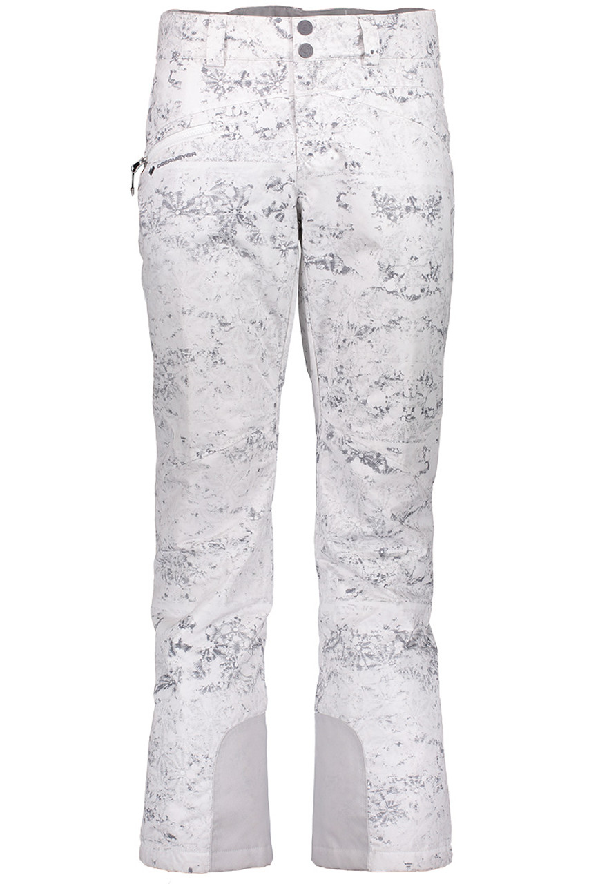 Obermeyer Malta Pant | Women's | Frosted Fossils | Front
