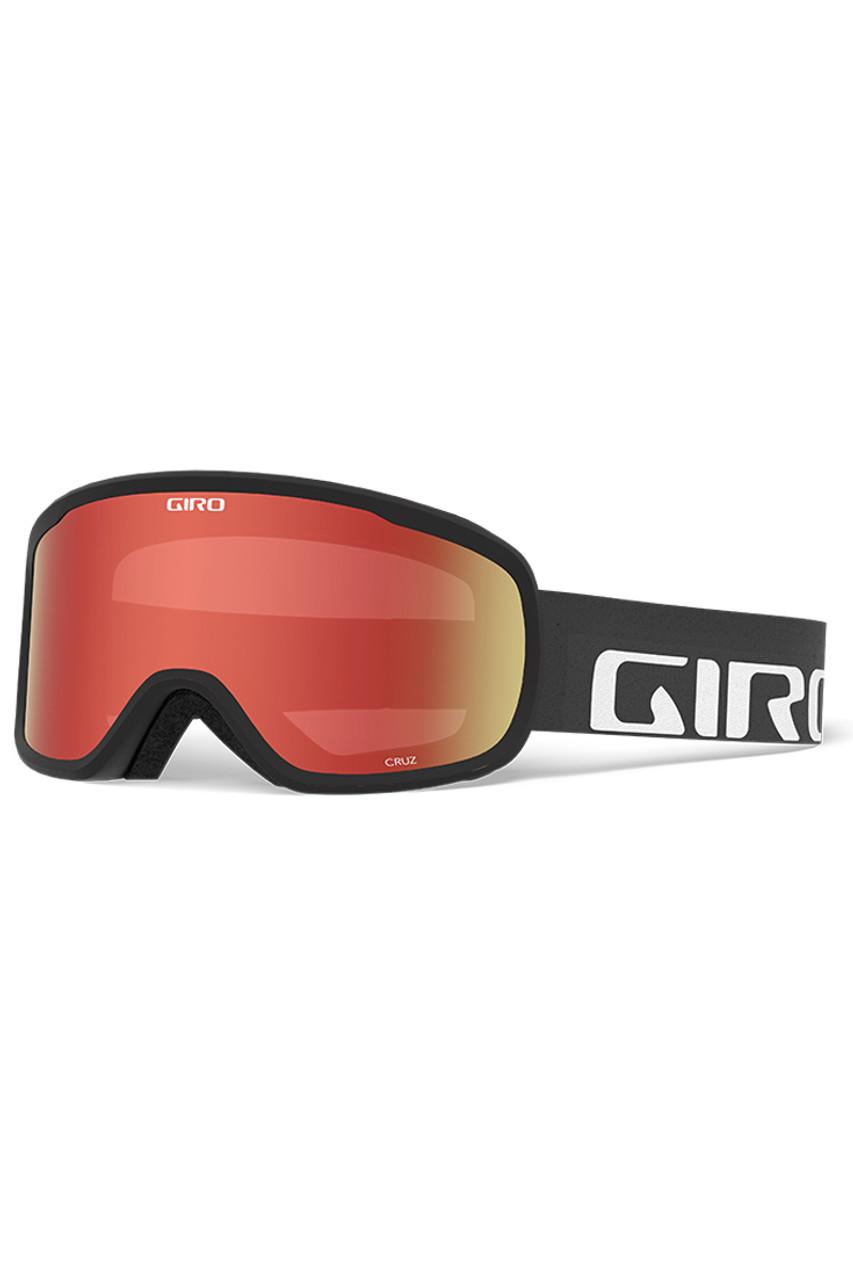 Giro Cruz Goggle | Youth | Amber Scarlet | Black