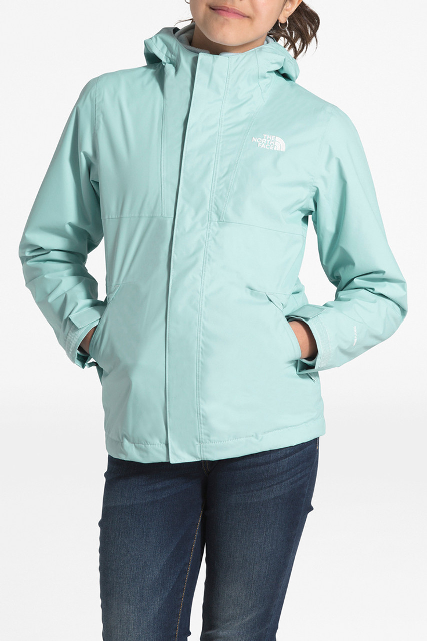 The North Face Mt. View Triclimate Jacket | Girls | Windmill Blue | Front