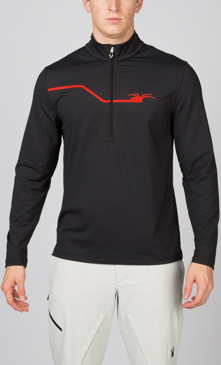 SPYDER MEN'S COMMANDER THERMA STRETCH T-NECK