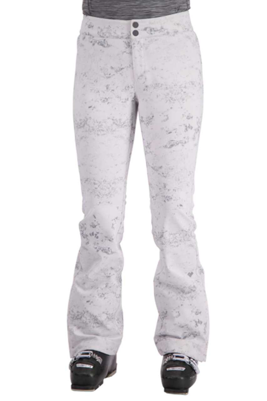 Obermeyer Printed Bond Pant | Women's | Frosted Fossils