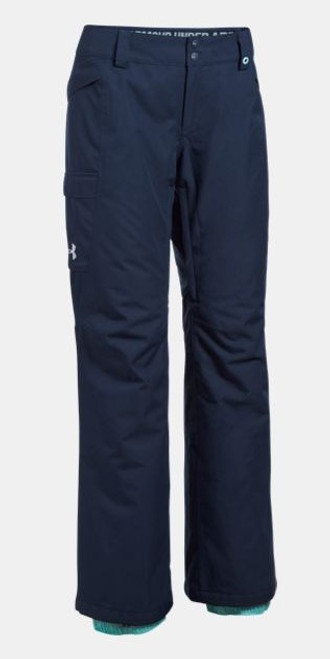 558789d17 Under Armour Pants | Women's ColdGear Infrared Chutes | Insulated 1280895 -  Midnight Navy/Blue