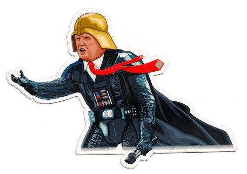"""Darth Idious"" Trump Vader Sticker"