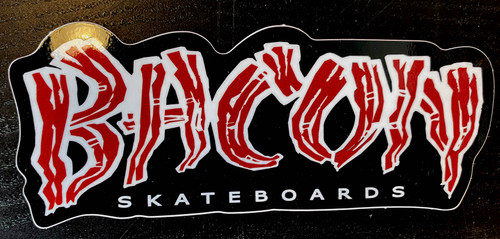 Bacon Logo Sticker
