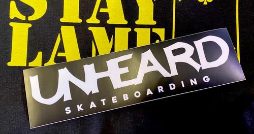 Unheard Bumper Sticker
