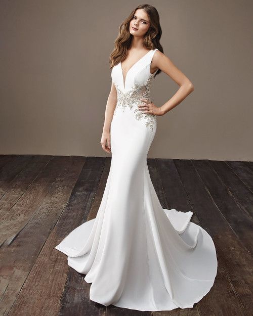 Ivory Beyonce Bridal Gown