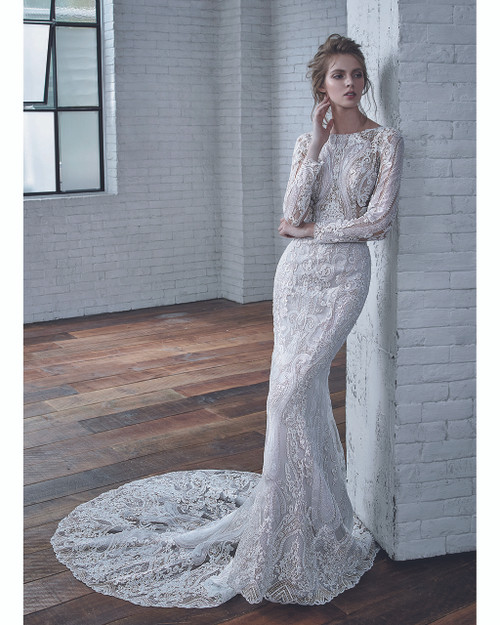 Ivory/Ivory Callista Bridal Gown Front