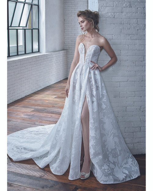 Ivory/Ivory Carina Bridal Gown Front