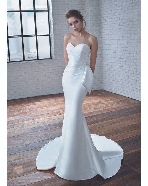 Ivory Carmen Bridal Gown Front