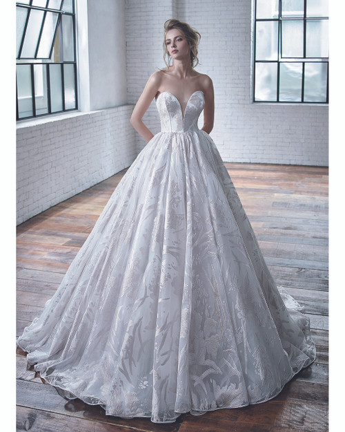 Ivory Carrington Bridal Gown Front