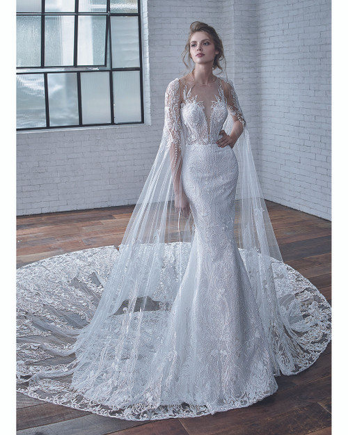 Ivory/Ivory Cayenne Bridal Gown Front