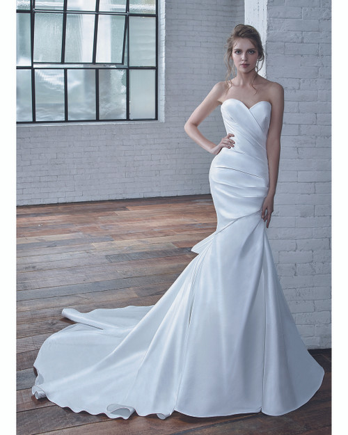 Ivory Cecilia Bridal Gown Front