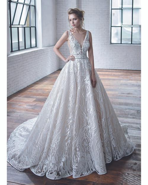 Ivory/Ivory Celeste Bridal Gown Front