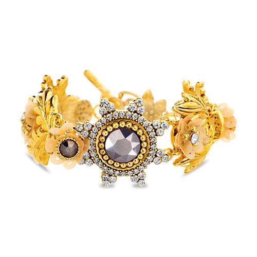 Gold Romantic Floral Bracelet