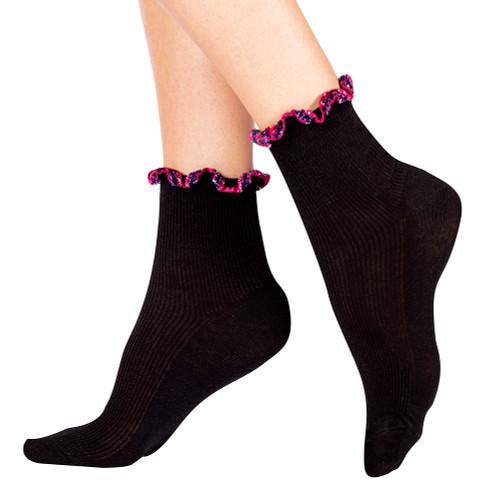 Blackberry Razzle Dazzle Socks