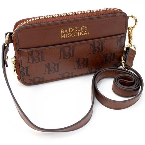 Madalyn Vegan Leather Pouch Belt Bag Front