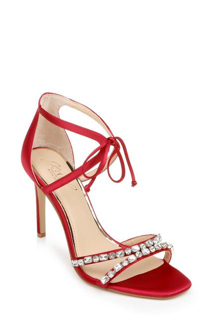Red Chandler Stiletto Heel Front Side