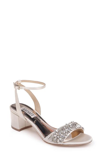 Ivory Ivanna Embellished Evening Shoe Front