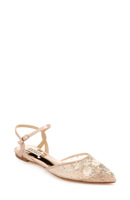 Soft Blush Carissa Pointed Toe Flat