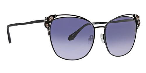 Black Marguerite Sunglasses Front Angle